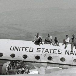 Senderismo Sendero del rescate del avión americano