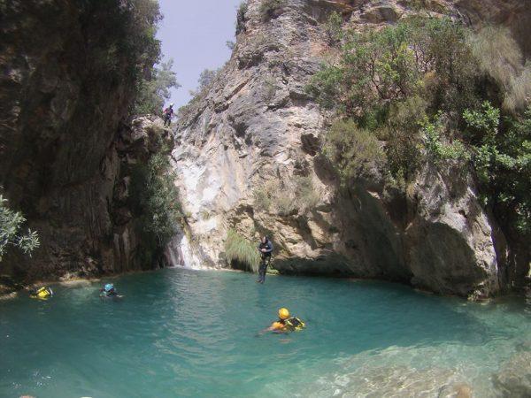 Río Verde Barranquismo Granada, Río Verde barranco Granada