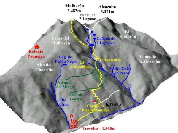 Senderismo Trevélez – Siete Lagunas