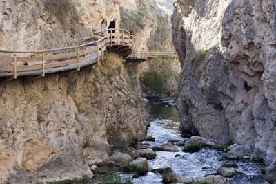 Senderismo Cerrada del río Castril