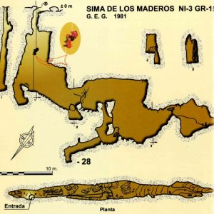 Sima de llos maderos, Alfacar, Sierra de la Alfaguara, Sierra de la Yedra, Nivar, Espeleología, iniciación, Granada