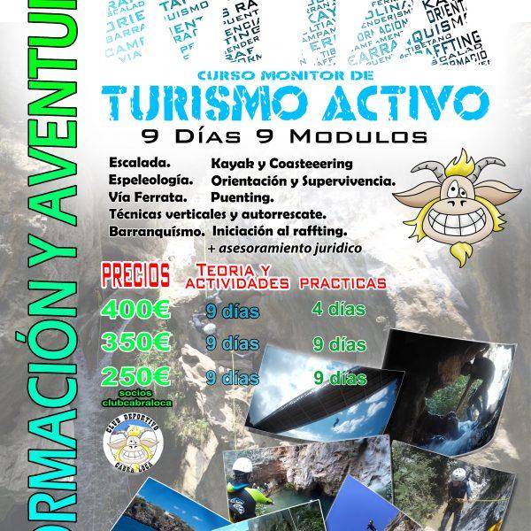 CURSO MONITOR TURISMO ACTIVO MAYO 2017