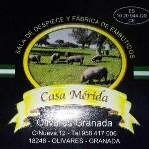 Casa Merida, sala de despiece y fabrica de embutidos, Olivares, Moclín.