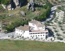 Centro de interpretación comarcal de Moclín, Hostal Rural de Moclín y vistas de Vía Ferrata Fuente Vieja