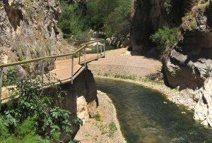 Río Velillos, Vía Ferrata Fuente Vieja, Ruta del Gollizno, Moclín.